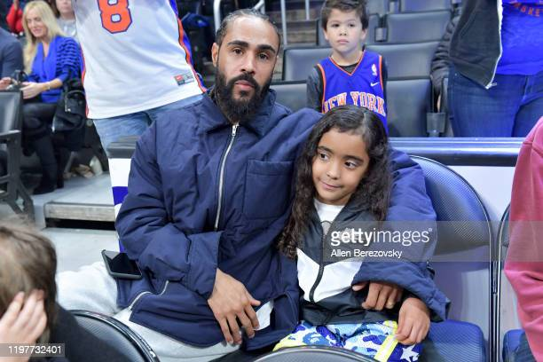 Jerry Lorenzo attends a basketball game between the Los Angeles Clippers and the New York Knicks at Staples Center on January 05 2020 in Los Angeles...
