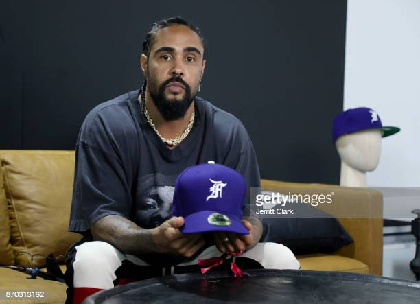 Jerry Lorenzo attends New Era Cap 2017 Complex Con Ambassador Collab lounge with A$AP Ferg Mike Will MadeIT Jerry Lorenzo Takashi Murakami and...