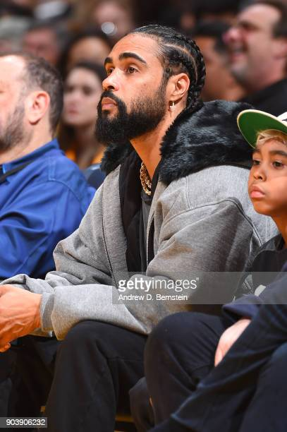 Jerry Lorenzo attends the Sacramento Kings game against the Los Angeles Lakers on January 9 2018 at STAPLES Center in Los Angeles California NOTE TO...