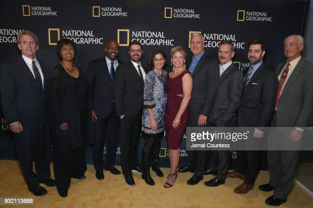 Jerry M Linenger Mae C Jemison Leland D Melvin Tim Pastore Nicole Stott Peggy Whitson Michael J Massimino Chris Hadfield Matt Renner and Jeffrey A...