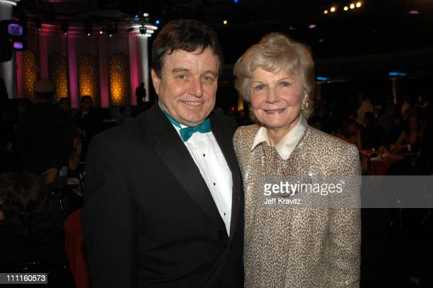Jerry Mathers and Barbara Billingsley during The TV Land Awards After Party at Hollywood Palladium in Hollywood CA United States