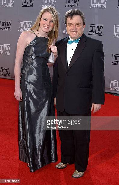 Jerry Mathers and daughter Gretchen during TV Land Awards A Celebration of Classic TV Arrivals at Hollywood Palladium in Hollywood California United...