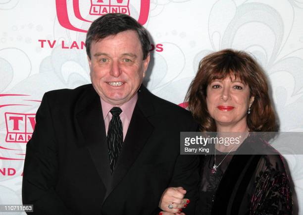 Jerry Mathers and guest during 5th Annual TV Land Awards Arrivals at Barker Hanger in Santa Monica CA United States