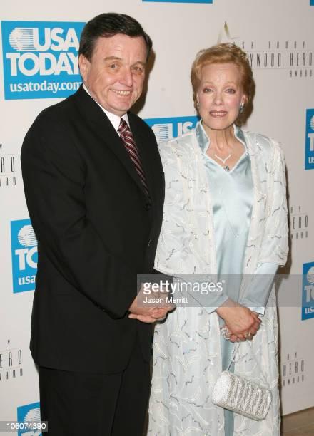 Jerry Mathers and Zina Bethune during USA Today Inaugural Hollywood Hero Award Gala Honoring Zina Bethune at Beverly Hilton Hotel in Beverly Hills...
