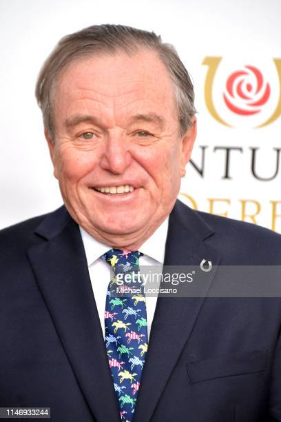 Jerry Mathers attends the 145th Kentucky Derby at Churchill Downs on May 04 2019 in Louisville Kentucky