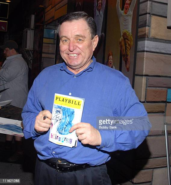 Jerry Mathers during Jerry Mathers Joins the Cast of Hairspray as Wilbur Turnblad June 8 2007 at Neil Simon Theatre in New York City New York