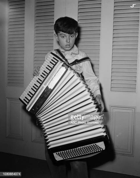 Jerry Mathers playing accordion appearing on 'Leave it to Beaver' 'Beaver's Accordion' December 24 1960