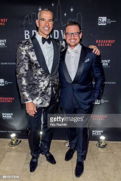 Jerry Mitchell and Adam Sansiveri attends the10th Annual Broadway Dreams Supper at The Plaza Hotel on December 12 2017 in New York City