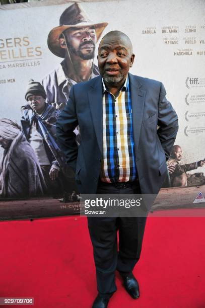 Jerry Mofokeng during Five Fingers for Marseilles movie premiere at the Market Theatre on March 08 2018 in Johannesburg South Africa After its world...