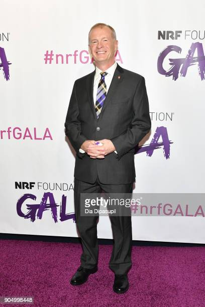 Jerry O'Brien attends the 2018 National Retail Federation Gala at Pier 60 on January 14 2018 in New York City