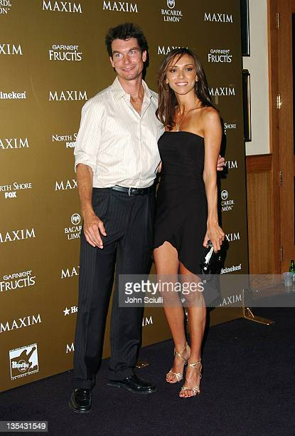 Jerry O'Connell and Giuliana DePandi during Maxim Magazine Hot 100 Party in Celebration of the Grand Opening of Body English In the Hard Rock Hotel...