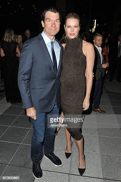 Jerry O'Connell and Rebecca Romijn arrive at the 2nd Annual Baby Ball Gala at NeueHouse Hollywood on November 11 2016 in Los Angeles California