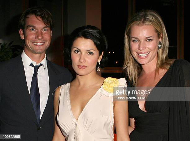 Jerry O'Connell Anna Netrebko and Rebecca Romijn *exclusive*