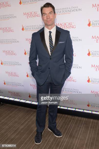 Jerry O'Connell attends A Magical Evening Gala hosted by The Christopher Dana Reeve Foundation a at Conrad Hotel on November 16 2017 in New York City