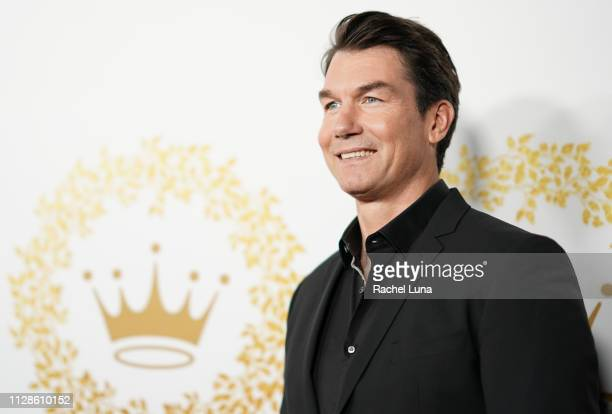 Jerry O'Connell attends Hallmark Channel And Hallmark Movies And Mysteries 2019 Winter TCA Tour at Tournament House on February 09 2019 in Pasadena...