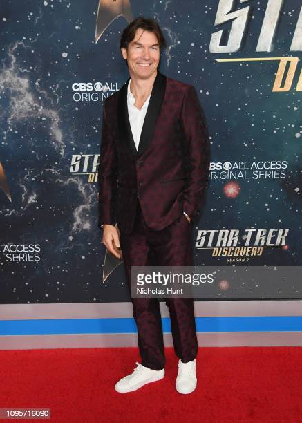 Jerry O'Connell attends Star Trek Discovery Season 2 Premiere at Conrad New York on January 17 2019 in New York City