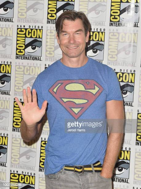 Jerry O'Connell attends 'The Death Of Superman Press Line during ComicCon International 2018 at Hilton Bayfront on July 20 2018 in San Diego...