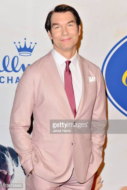 Jerry O'Connell attends the Hallmark Channel's 2019 American Rescue Dog Show at Pomona Fairplex on January 13 2019 in Pomona California