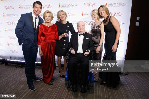 Jerry O'Connell Henry G Stifel IIIand family attend 2017 Christopher Dana Reeve Foundation A Magical Evening Gala at The Conrad New York on November...