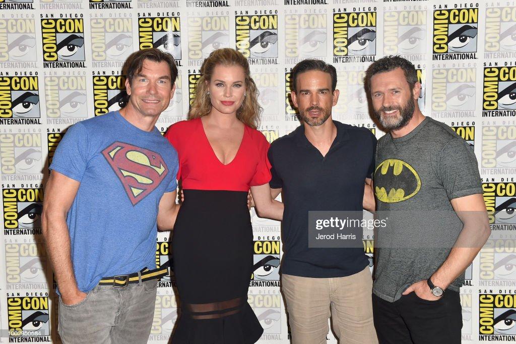 "Comic-Con International 2018 - ""The Death Of Superman"" Press Line : News Photo"
