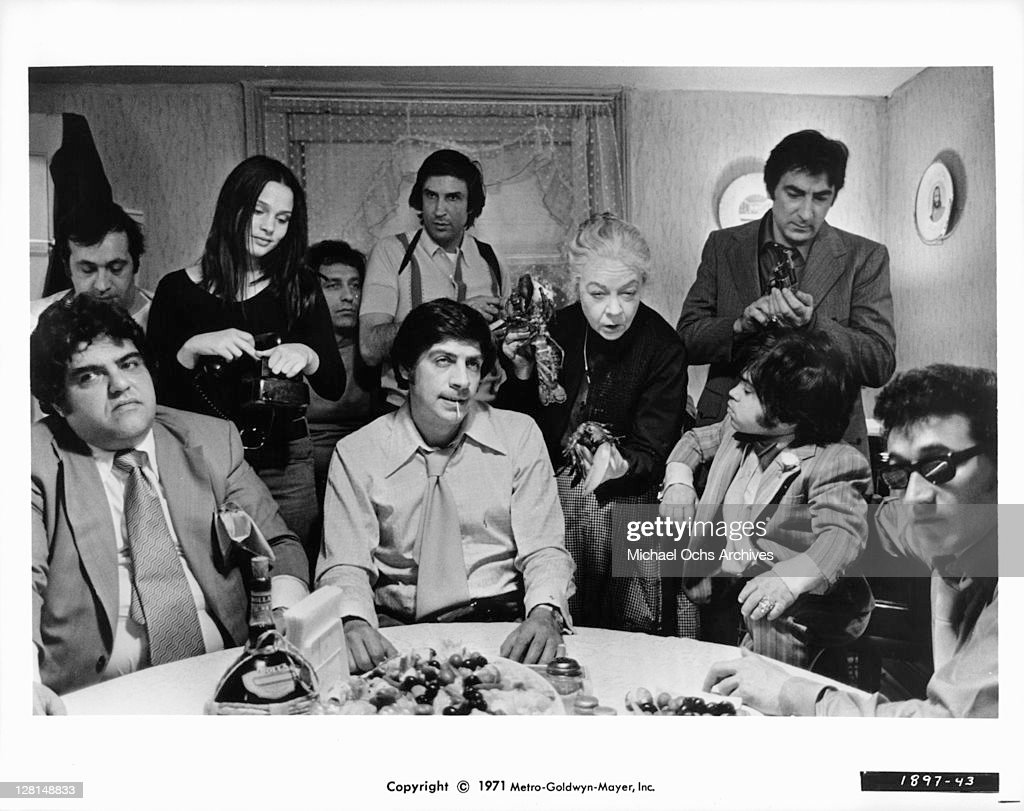 Jerry Orbach And Herve Villechaize In 'The Gang That Couldn't Shoot Straight' : News Photo