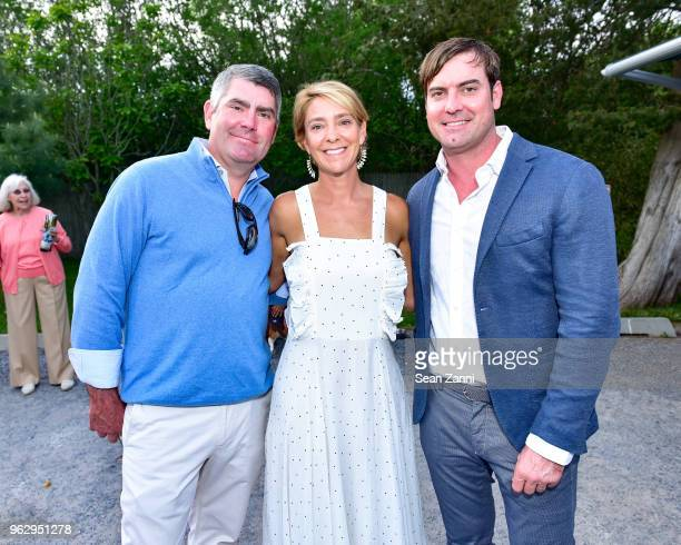 Jerry Ouderkirk Megan Ouderkirk and Dr Elliot Weiss attend ARF Thrift Shop Designer Show House Sale at ARF Thrift Treasure Shop on May 26 2018 in...