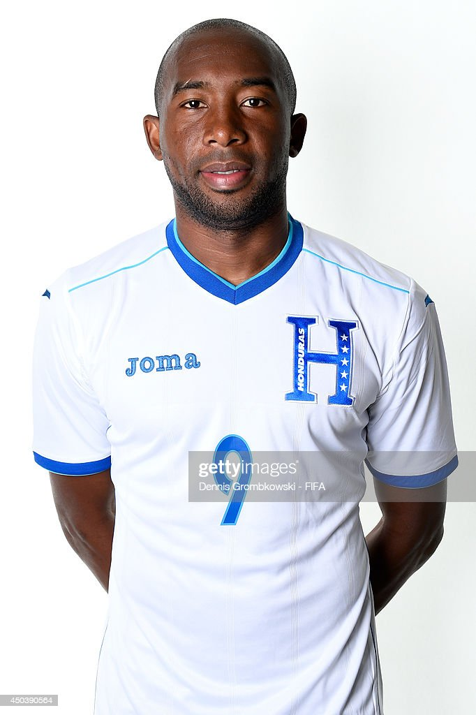 Jerry Palacios of Honduras poses during the Official FIFA World Cup 2014 portrait session on June 10, 2014 in Porto Feliz, Brazil.