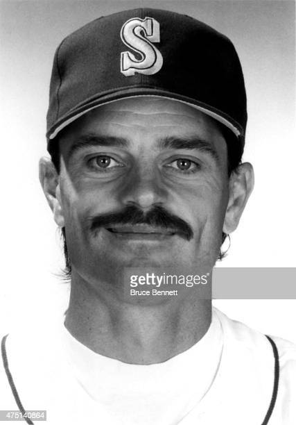 Jerry Reed of the Seattle Mariners poses for a portrait in March, 1990 in Seattle, Washington.