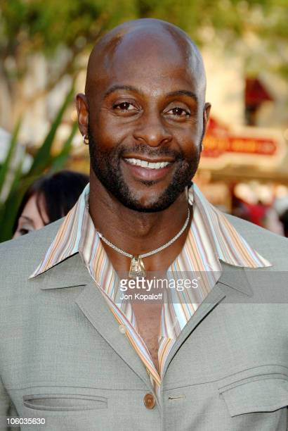 Jerry Rice during 'Pirates of the Caribbean Dead Man's Chest' Los Angeles Premiere Arrivals at Disneyland/Main Street in Anaheim California United...