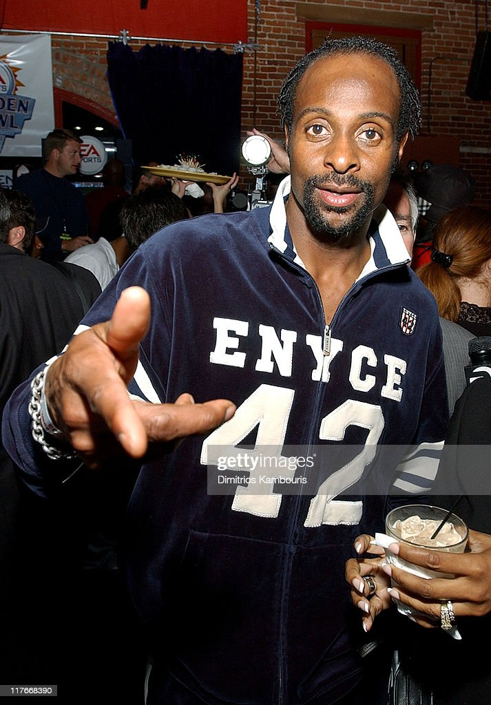 Jerry Rice during Super Bowl XXXVII - EA Sports Ninth Annual Football Videogame Tournament at Axiom Nightclub in San Diego, California, United States.