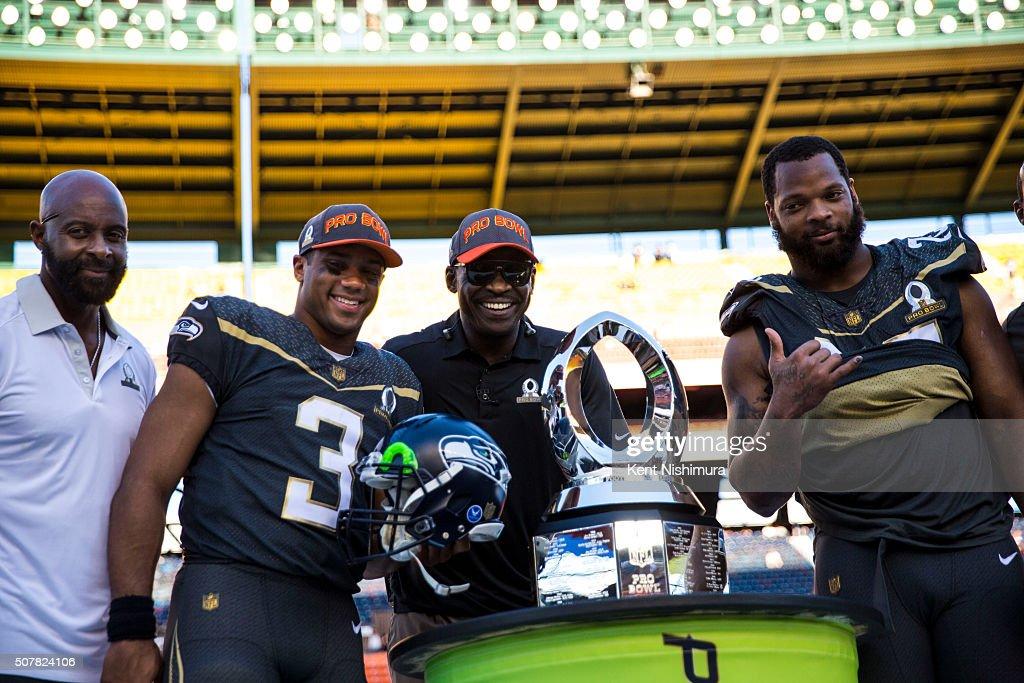 AFC-NFC Pro Bowl : News Photo