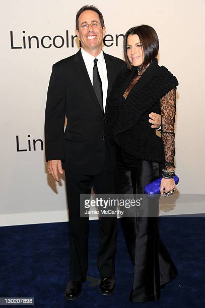 4beb49bedd Jerry Seinfeld and Jessica Seinfeld attend an evening with Ralph Lauren  hosted by Oprah Winfrey and