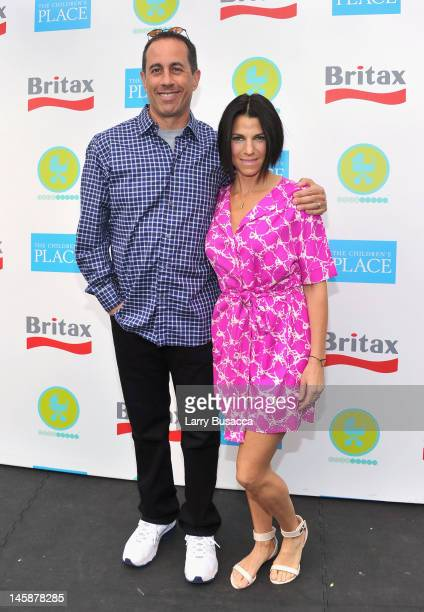 Jerry Seinfeld and Jessica Seinfeld attend the 2012 Baby Buggy Bedtime Bash hosted by Jessica And Jerry Seinfeld on June 6 2012 in New York City