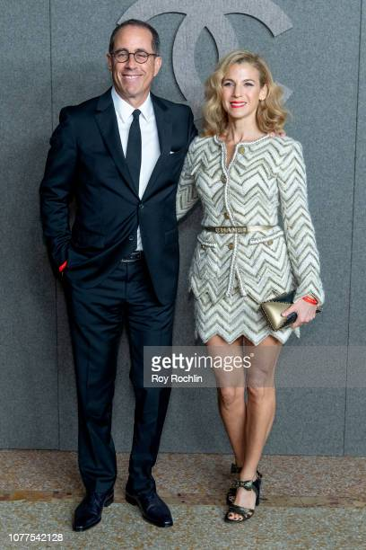 Jerry Seinfeld and Jessica Seinfeld attend the Chanel Metiers D'Art 2018/19 Show at The Metropolitan Museum of Art on December 04 2018 in New York...