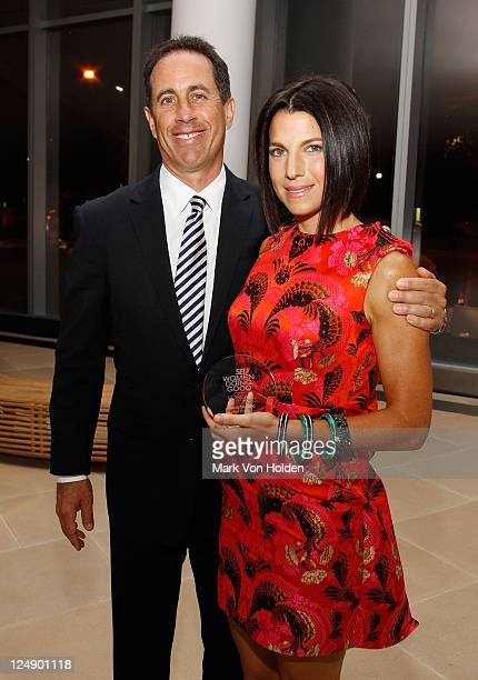 Jerry Seinfeld and Jessica Seinfeld attend the SELF Magazine's 4th Annual Women Doing Good Awards at IAC Building on September 13, 2011 in New York...