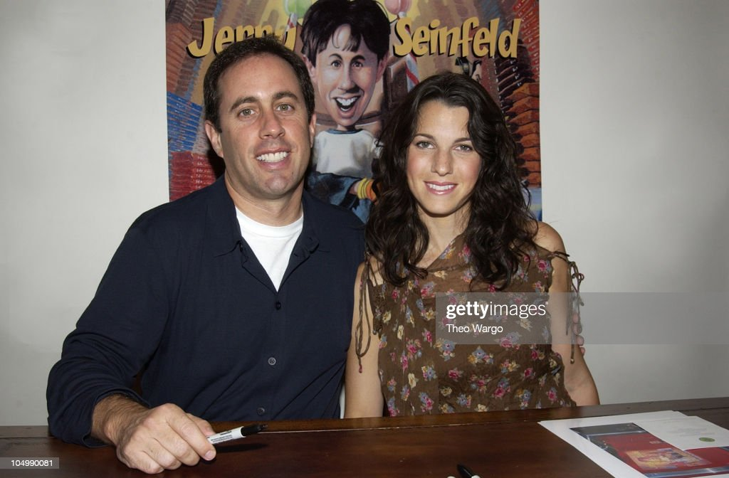 "Jerry Seinfeld Signs Copies of his New Book, ""Halloween"", to Benefit Jessica"