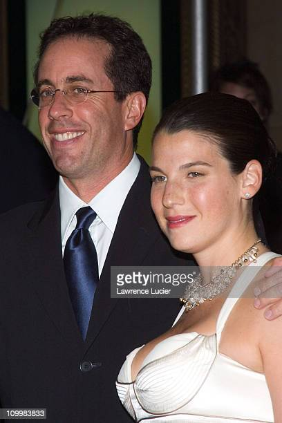Jerry Seinfeld and Jessica Seinfeld during New Yorkers for Children 10th Anniversary Gala at Ciprianis in New York City New York United States