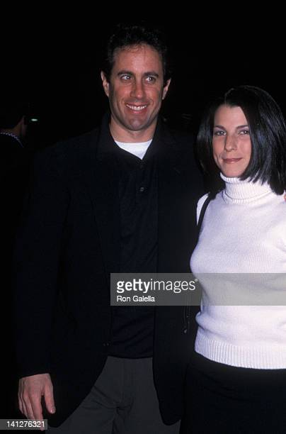Jerry Seinfeld and Jessica Sklar at the Premiere of 'What Planet Are You From?', Ziegfeld Theater, New York City.