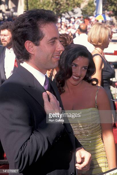 Jerry Seinfeld and Shoshanna Lonstein at the 48th Annual Primetime Emmy Awards Pasadena Civic Auditorium Pasadena