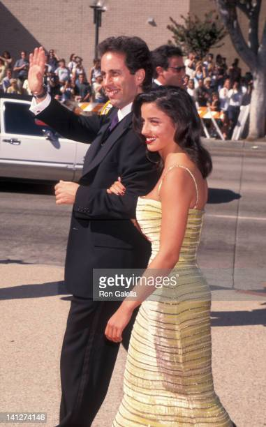 Jerry Seinfeld and Shoshanna Lonstein at the 48th Annual Primetime Emmy Awards Pasadena Civic Auditorium Pasadena