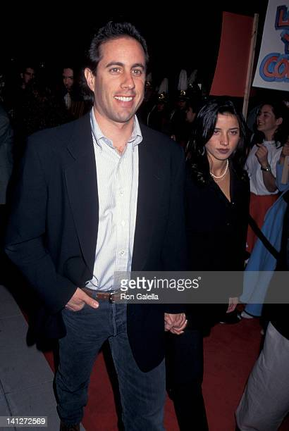 Jerry Seinfeld and Shoshanna Lonstein at the Premiere of 'Bye Bye Birdie' Academy Theater Beverly Hills