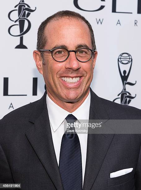 Jerry Seinfeld arrives at 55th Annual CLIO Awards at Cipriani Wall Street on October 1 2014 in New York City
