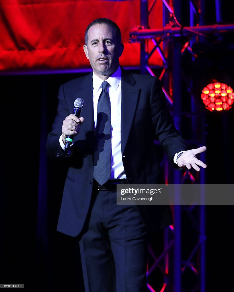 Jerry Seinfeld attends 10th Annual Stand Up For Heroes - Show at The Theater at Madison Square Garden on November 1, 2016 in New York City.