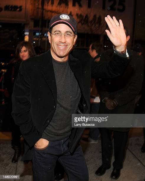 Jerry Seinfeld attends Paul McCartney plays World Famous Apollo Theater for first time celebrating 20 Million Sirius XM Subscribers at The Apollo...