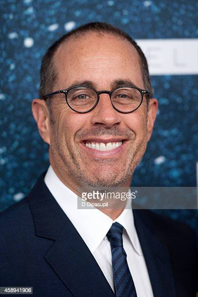 Jerry Seinfeld attends the 2014 Women's Leadership Award Honoring Stella McCartney at Alice Tully Hall at Lincoln Center on November 13 2014 in New...