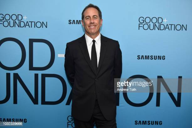 Jerry Seinfeld attends the 2018 GOOD+ Foundation's Evening of Comedy + Music Benefit, presented by Samsung Electronics America at Carnegie Hall on...