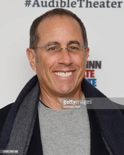 """Jerry Seinfeld attends the """"Colin Quinn: Red State Blue State"""" Opening Night at the Minetta Lane Theatre on January 22, 2019 in New York City."""