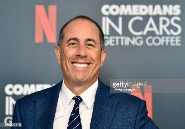 Jerry Seinfeld attends the LA Tastemaker event for Comedians in Cars at The Paley Center for Media on July 17, 2019 in Beverly Hills City.
