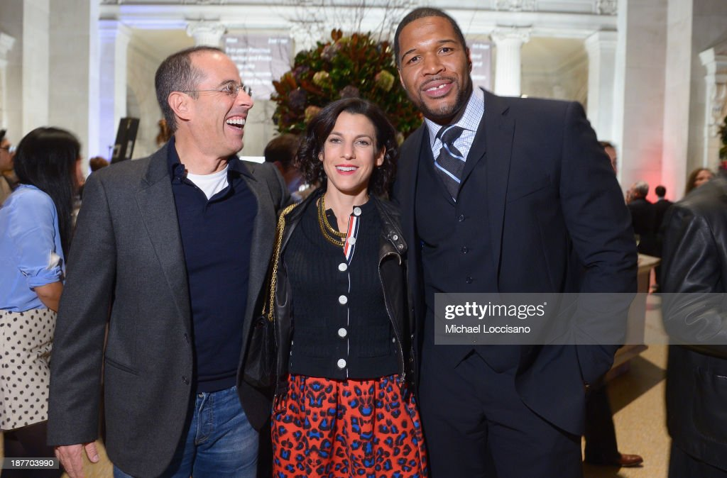 Jerry Seinfeld, Jessica Seinfeld And Michael Strahan Attend Amazon Studios  Premiere Screening For U0027Alpha