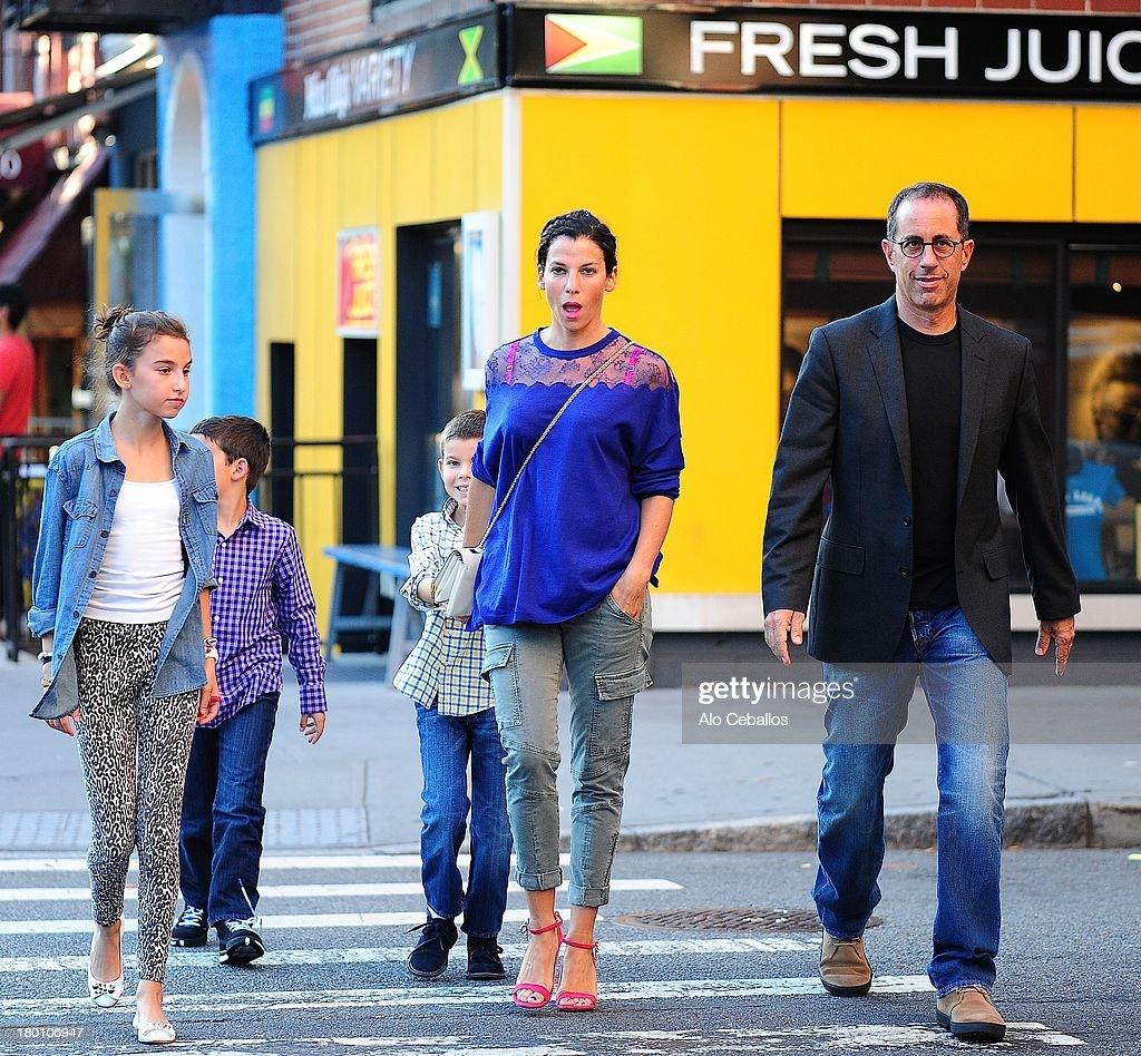 Celebrity Sightings In New York City - September 8, 2013 : Nieuwsfoto's